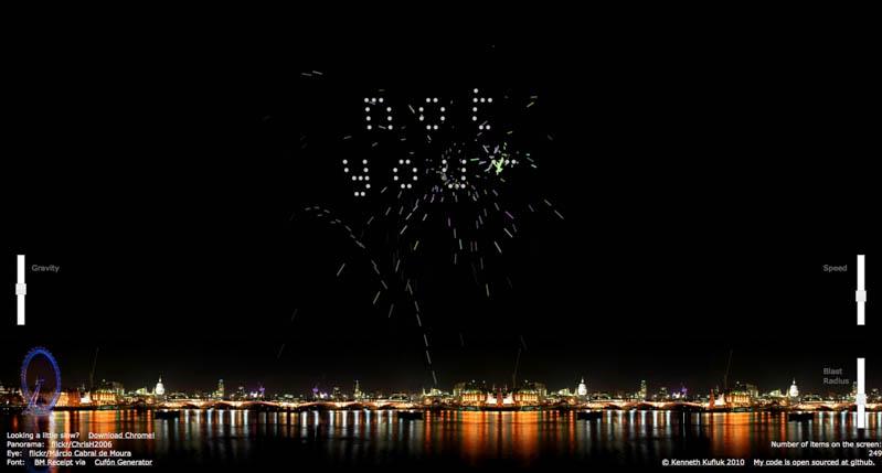 js-fireworks - JavaScript Fireworks - A Chrome Experiment