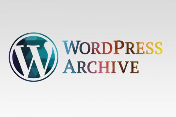 wordpress archive
