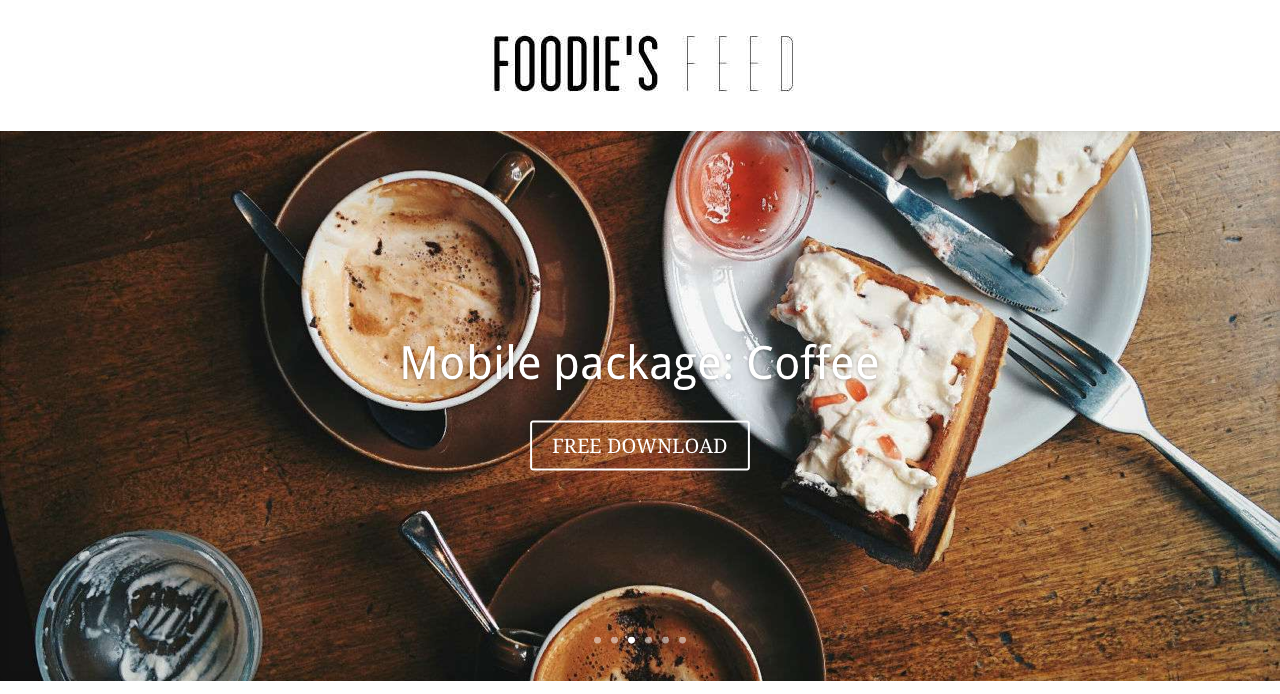 Free Food Pictures in Hi-res - Foodie's Feed