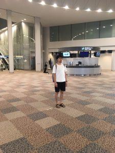 成田空港でぼっち