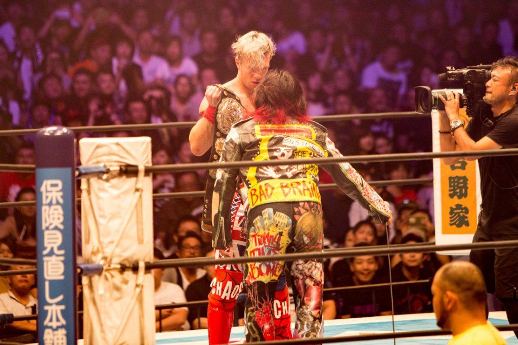 IWGPジュニア次期挑戦者に名乗りをあげる高橋ヒロム