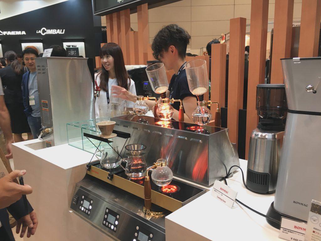 SCAJ2017 サイフォンコーヒー
